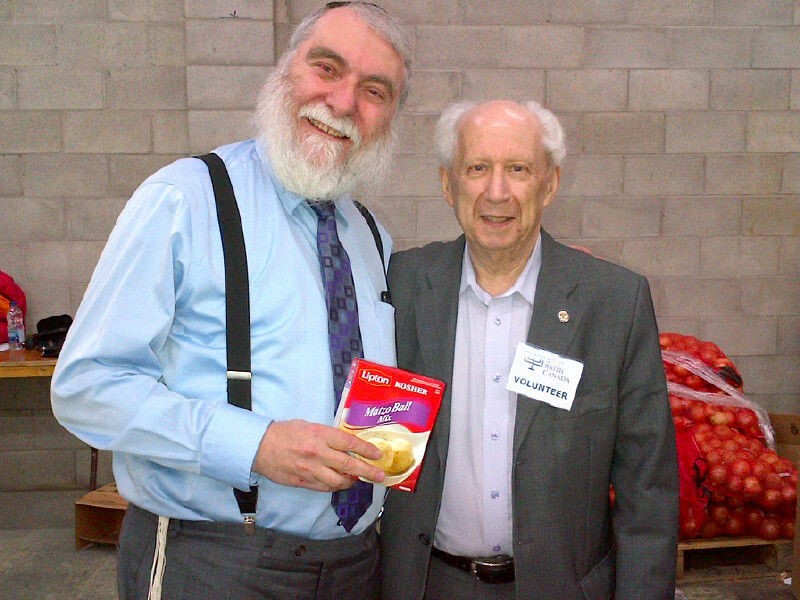MADA President Pesach Nussbaum with Ted Greenfield