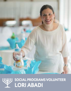 Lori Bassal Abadi - Social Program volunteer