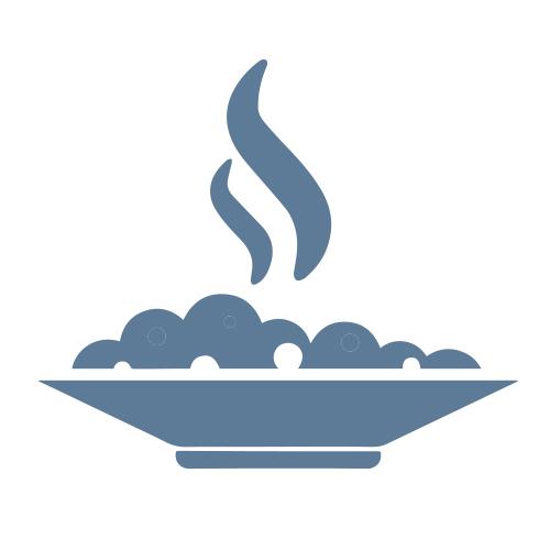Hot meals logo