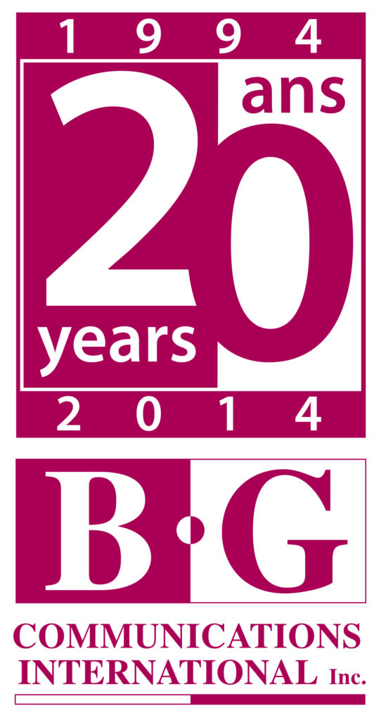 BG Communications International Inc. logo