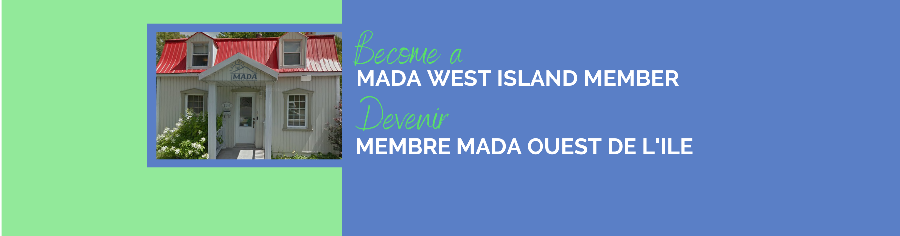 MADA West Island Member Sign Up
